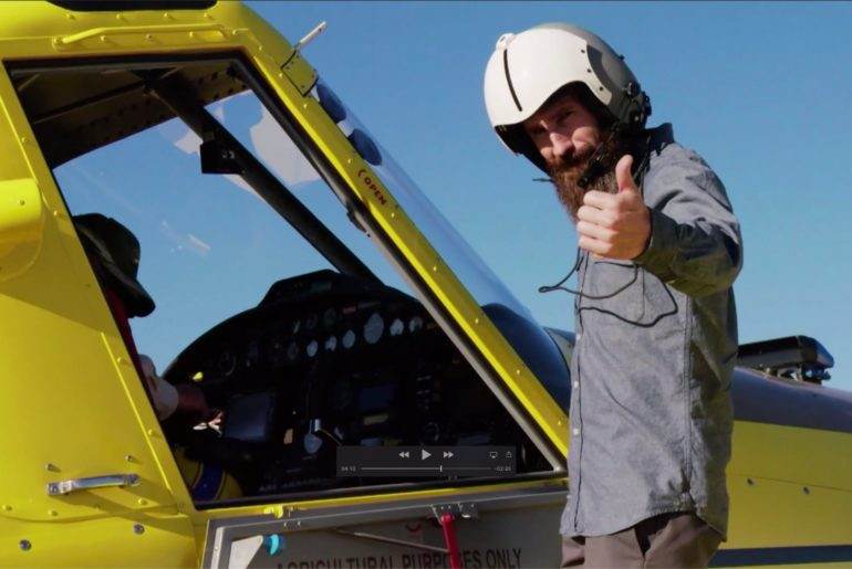 Discovery Channel visits Air Tractor